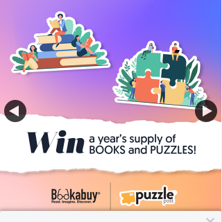 Puzzle Post – Win a Year's Supply of Books and Puzzles
