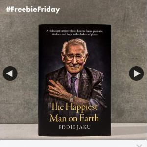QBD Books – Win One of Four Copies of The Happiest Man on Earth