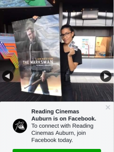 Reading Cinemas Auburn – Win a Double Pass to See The Marksman