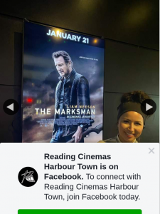 Reading Cinemas Harbour Town – Win The Marksman Double Pass