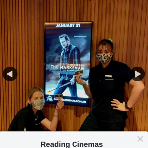 Reading Cinemas Jindalee – Win a The Marksman Double Pass