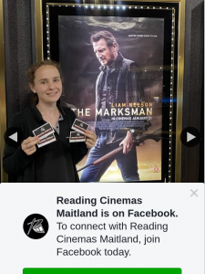 Reading Cinemas Maitland – Win a The Marksman Double Pass