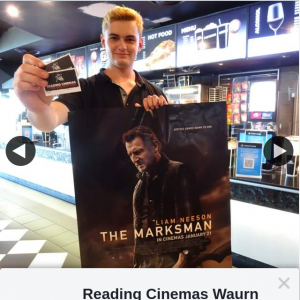 Reading Cinemas Waurn Ponds – Win The Marksman Double Pass