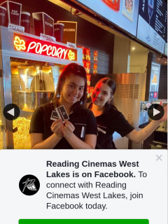 Reading Cinemas West Lakes – Win a Double Pass to Any Movie In 2021