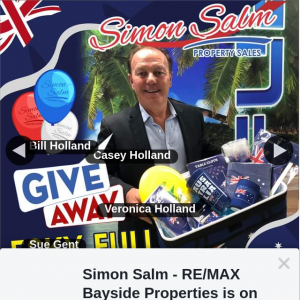 Simon Salm RE-Max Bayside Properties – Win an Australia Esky Full of Aussie Day Party Goodies