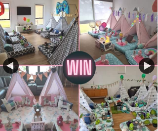 South Aussie With Cosi – Win a Diy Teepee Party for Five