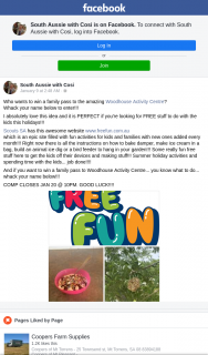 South Aussie With Cosi – Win a Family Pass to The Amazing Woodhouse Activity Centre