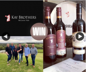 South Aussie With Cosi – Win a Kay Brothers Wine Tasting