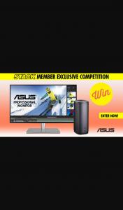 Stack – Win an Asus Proart Desktop Bundle (prize valued at $10,000)