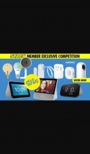 Stack – Win 1 of 2 Ultimate Lenovo Smart Home Kits