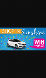 Sunshine Business Association – Win a Car Competition (prize valued at $17,000)