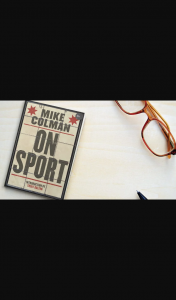 The Australian Plusrewards – Win One of Ten Signed Copies of Mike Colman on Sport