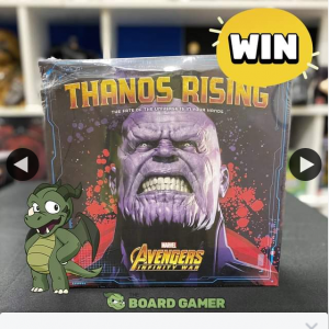 The Board gamer – Win a Damaged Copy of Thanos Rising Board Game