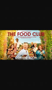 The West Australian – Win 1 of 20 Double Passes to The Food Club