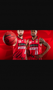 The West – Win 1 of 5 Double Passes to See Perth Wildcats V New Zealand Breakers