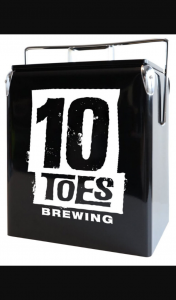 10 Toes Beer – Win 1 of 10 Branded Coolers