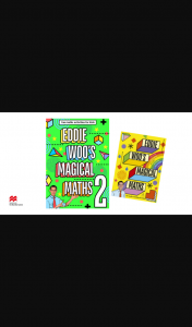 Totalgirl – Win an Eddy Woo's Magic Maths Book Pack (prize valued at $519)