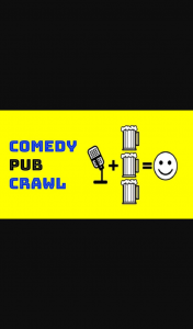 Triple M – Win 1/20 Double Pass's to The Comedy Pub Crawl February 2021 Show (prize valued at $1,800)