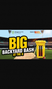 Triple M – Win 1/10 Entry for The Winner and Their Companion to Participate In Triple M'sbackyard Bash at The G (prize valued at $11,500)