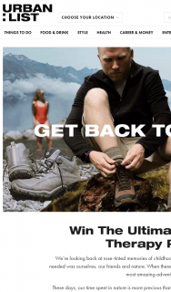 Urban List – Win The Ultimate Nature Therapy Pack (prize valued at $1,350)