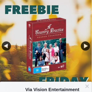 Via Vision Entertainment – Win a Copy of a Country Practice Season Fourteen on DVD