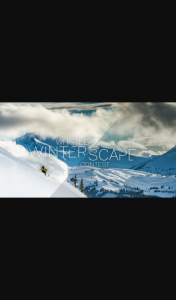 Whistler Winterscape Competition – Win a Trip to Whistler Including Airfares (prize valued at $15,873)