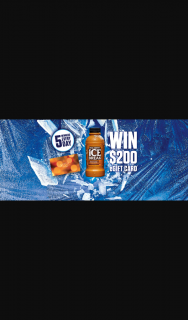 Woolworths Ice Break Cracking Summer Promotion – Competition (prize valued at $28,000)