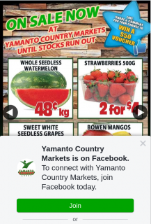 Yamanto Country Markets – Win a $50 In-Store Voucher (prize valued at $50)