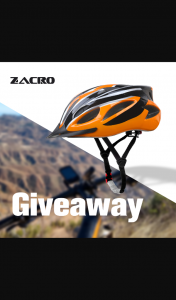 Zacro – Win a Adult Bike Helmet/closes 27/1/21