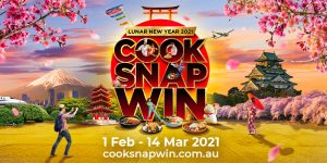 Asian Inspirations – Cook Snap and Win – Win 1 of 2 trips for 2 to Japan