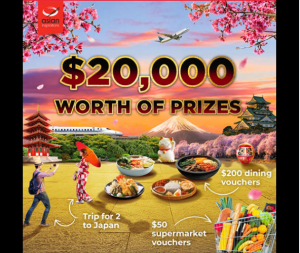 Asian Inspirations – Win 1 of 2 trips for two to Japan