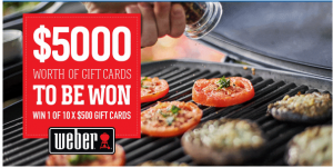 BIG4 – Win 1 of 10 gift cards valued at $500 each
