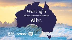 Channel Seven – Sunrise 'Accor Take 2' – Win 1 of 5 family holidays for 4 to either Sydney, Melbourne, Canberra, Gold Coast or Cairns valued at up to $6,170