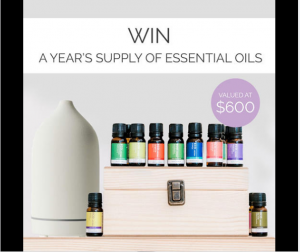 ECO. Modern Essentials – Win a year's supply of essential oils and blends