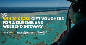 Experience OZ – Win 1 of 20 Experience Oz gift vouchers valued at $250 each