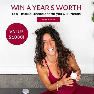 Exposed Naturals – Win all-natural deodorant for you and 4 friends