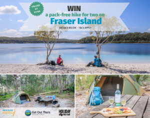 Fraser Island Hiking – Win 3-day pack-free hiking experience for 2