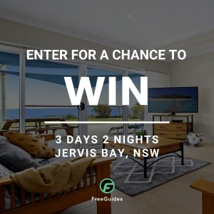 Freeguides – Win 3-day stay at Jervis Bay, NSW