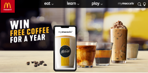 McDonalds – Win Coffee for a whole year
