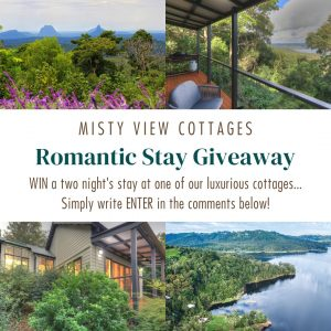 Montville Misty View Cottages – Win a 2-night stay in a luxurious cottage