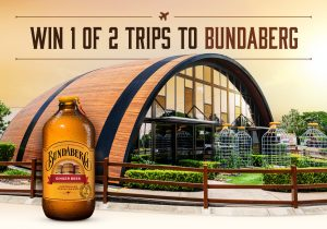 Network 10 – BBD – The Amazing Race – Win 1 of 2 prize packages for 2 to Bundaberg, QLD