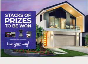 Ownit Homes – Win 1 of 10 prizes valued at AU$2,381 each