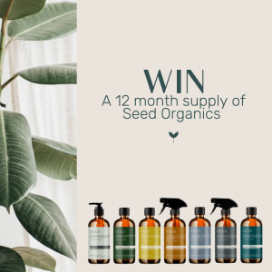 Seed Organics – Win a prize pack valued at $750