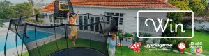 Springfree Trampoline – Win a Springfree Trampoline prize package valued at over $3,000