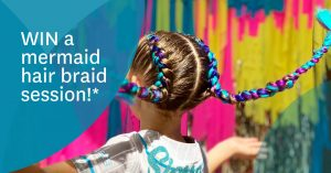 Stockland (Burleigh Heads) – Win a mermaid hair style
