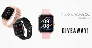 The One Watch Co. – Win 1 of 3 Smart Series watches