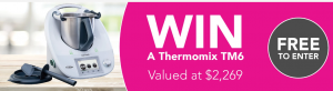 Tony Ferguson – Win a Thermomix prize pack valued at over $2,200