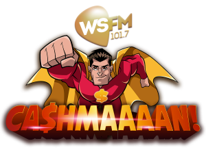 WSFM / GOLD104.3 – Cashmaaaan! Win 1 of 350 cash prizes from $100 up to $5,000