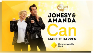WSFM – Jonesy & Amanda Can Make It Happen – Win a share of $10,000 (4 cash prizes to be won)
