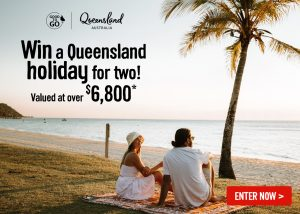 Webjet – Win a 7-night holiday in Queensland for 2 people (return flights included)
